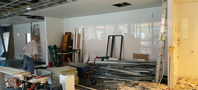 Verbouwingsupdate: veel werk verzet!